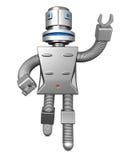 O robô presta serviços de manutenção ao conceito do negócio da tecnologia Fotografia de Stock Royalty Free