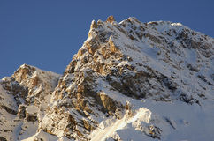 Ośrodek narciarski Francja Espace Killy Obrazy Royalty Free
