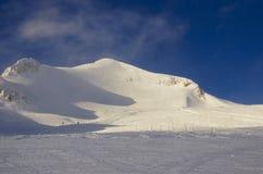 Ośrodek narciarski Francja Espace Killy Zdjęcie Royalty Free