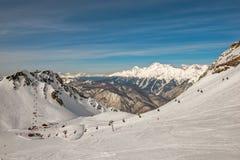 Ośrodek narciarski w Sochi, Rosja Obraz Stock