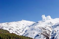 ośrodek pradollano stoki narciarskie Hiszpanii Fotografia Stock
