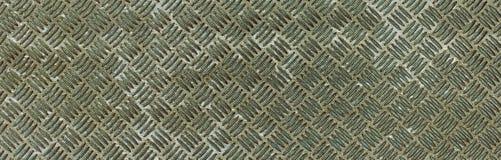 O rombo metálico de prata do óxido dá forma ao teste padrão Fotos de Stock Royalty Free
