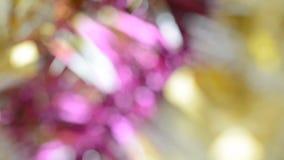 O rosa abstrato borrado ilumina o fundo do bokeh filme