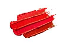O rosa vermelho compõe o fundo isolado branco da textura do borrão foto de stock
