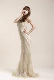 O roupa de senhora um vestido de casamento Imagem de Stock Royalty Free