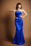 O roupa de senhora um vestido de casamento Imagens de Stock Royalty Free