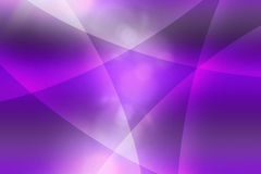 O roxo curva o fundo abstrato Fotos de Stock Royalty Free
