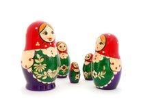 O russo aninhou bonecas Fotografia de Stock Royalty Free