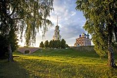 O Ryazan Kremlin imagem de stock
