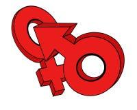 O símbolo. Imagem de Stock