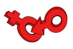 O símbolo. Imagens de Stock