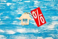 O símbolo da casa Fotografia de Stock
