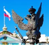 O símbolo do império de russo Fotos de Stock Royalty Free