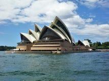 O símbolo icônico de Austrália, Sydney Opera House bonito imagem de stock