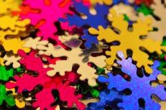 O ` s do ano novo stars a decoração Imagens de Stock