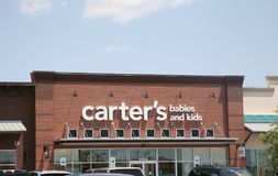 O ` s dos bebês e da criança do ` s de Carter veste-se Imagens de Stock