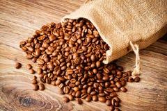 O saco de feijões de café imagem de stock royalty free