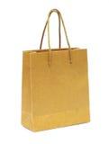 O saco de mão vazio de recicl o papel Foto de Stock