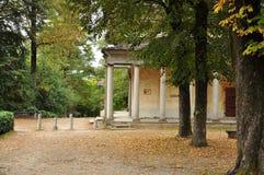 O Sacro Monte di Orta, Piemonte, Itália Imagem de Stock