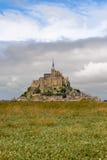 O Saint-Michel do mont, Normandy, France foto de stock