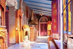 O salão da igreja Imagem de Stock