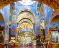 O salão da oração da catedral da trindade santamente Imagens de Stock