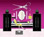 O salão de beleza do cabelo Fotografia de Stock Royalty Free