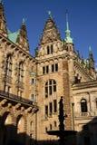 O salão de cidade de Hamburgo Fotos de Stock