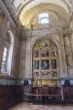 O salão do capítulo, igualmente chamado Capela de San Pedro de Osma, é o st foto de stock royalty free