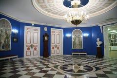 O salão do museu fotografia de stock royalty free