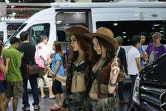 36.o salón del automóvil internacional 2015 de Bangkok Fotografía de archivo libre de regalías