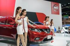 36.o salón del automóvil internacional 2015 de Bangkok Foto de archivo libre de regalías