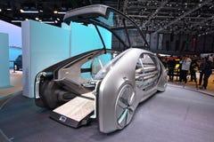 88.o salón del automóvil internacional 2018 de Ginebra - Renault EZ-va concepto Imagen de archivo libre de regalías