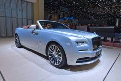 88.o salón del automóvil internacional 2018 de Ginebra - Rolls Royce Dawn Aero Cowling Foto de archivo