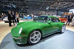 88.o salón del automóvil internacional 2018 de Ginebra - SCR de Ruf Fotografía de archivo libre de regalías