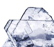 O sal de cristal fotografia de stock