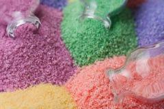 O sal flavored para um banheiro Fotos de Stock