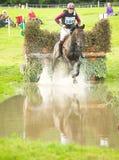 O salto de água no castelo de Blair. Fotografia de Stock