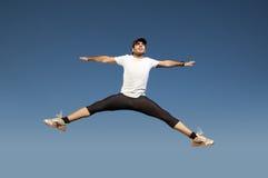 O salto do homem Fotografia de Stock Royalty Free
