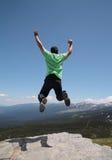 O salto do homem Imagem de Stock Royalty Free