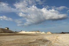 O saltworks de Araya imagens de stock royalty free