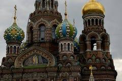 O salvador no sangue em St Petersburg Foto de Stock Royalty Free