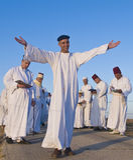 O samaritano Shavuot pray Fotografia de Stock Royalty Free