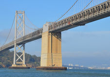 O San Francisco Oakland Bay Bridge Imagem de Stock