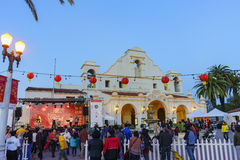 O San Gabriel Chinese New Year Event Foto de Stock Royalty Free