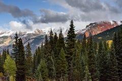 O San Juan Mountains em Colorado imagem de stock