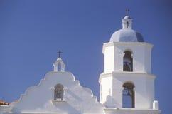 O San Luis Regional Mission Church de Francia em San Diego California Imagem de Stock Royalty Free