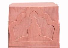 O sandstone da escultura do teste padrão india Foto de Stock Royalty Free