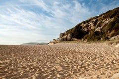 O Sandy Beach bonito Fotografia de Stock Royalty Free