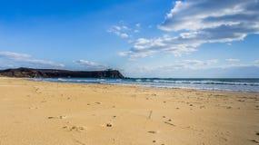 O Sandy Beach do mar Imagem de Stock